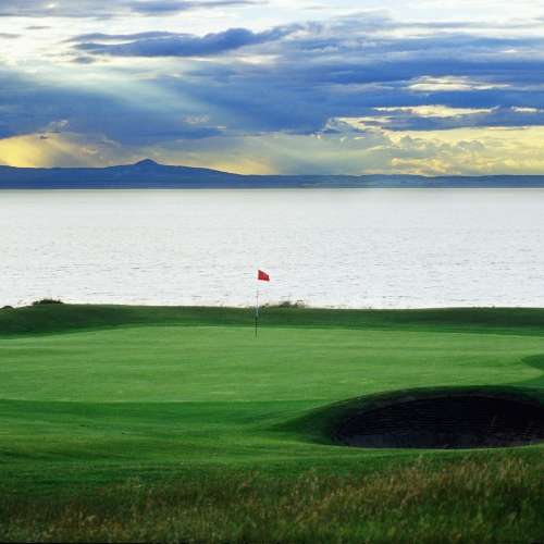 Gullane #1-11th-green