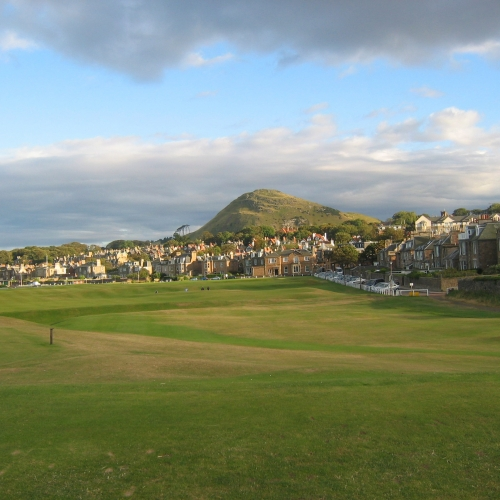 North Berwick 18th hole