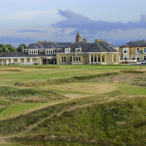 Prestwick Golf Club Clubhouse