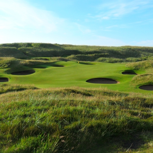 Royal Aberdeen 8th green