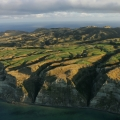 Cape Kidnappers Aerial of the course