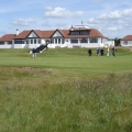 Western Gailes 18th green